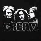 Cream band ***SMALL*** screen printed t-shirt Black punk retro