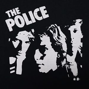 The Police band ***SMALL*** screen printed t-shirt Black retro style