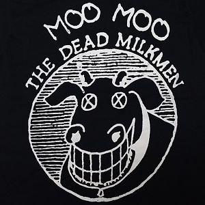 The Dead Milkmen band ***SMALL*** screen printed t-shirt Black