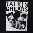 Talking Heads band ***MEDIUM*** printed t-shirt Black punk retro