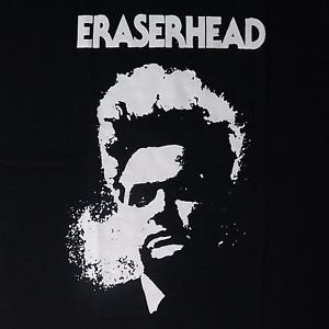Eraserhead movie ***SMALL*** screen printed t-shirt Black retro style