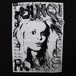 Hanoi Rocks band ***LARGE*** punk rock t-shirt Black