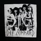 Def Leppard band ***2XL*** screen printed t-shirt Black punk retro