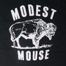 Modest Mouse band ***XLARGE*** printed t-shirt Black punk retro