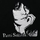 Patti Smith ***3XL*** screen printed t-shirt Black punk retro