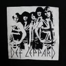 Def Leppard band ***XLARGE*** screen printed t-shirt Black punk retro