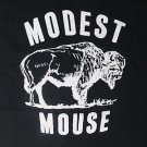 Modest Mouse band ***LARGE*** screen printed t-shirt Black punk retro