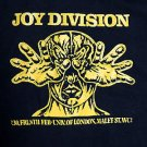 Joy Division band Flyer ***SMALL*** printed t-shirt Yellow on Black