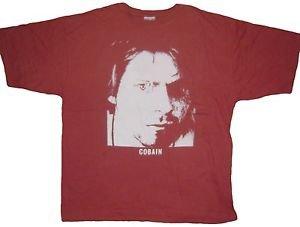 Kurt Cobain ***2XL*** Nirvana band screen printed t-shirt punk retro cotton