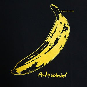 Velvet Underground & Nico ***MEDIUM*** Yel on Black t-shirt Banana cover