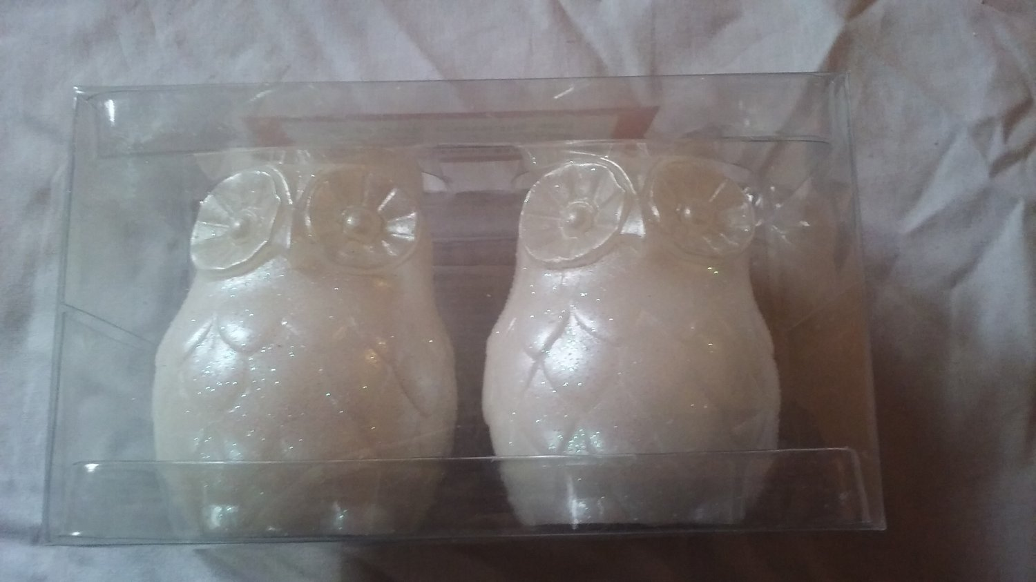 Owl Candle Set