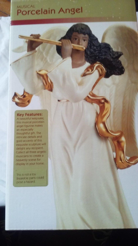 Musical Porcelain Angel