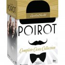 Agatha Christie's Poirot : Complete Cases Collection 33-Discs Set DVD 2014 New