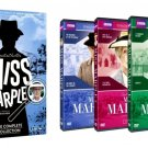 Miss Marple: The Complete Collection DVD 9-Disc Set 2015 Brand New Sealed