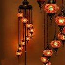 9 balls turkish mosaic fkloor lamp