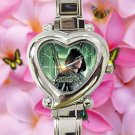 cute arrow season Stephen Amell heart charm watches stainless steel