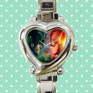 cute arrow season Stephen Amell and the flash heart charm watches stainless steel