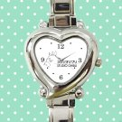 cute studio ghibli cartoon heart charm watches stainless steel