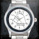 cool studio ghibli cartoon Stainless Steel Wristwatches