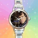 cute benedict cumberbatch sherlock 221B holmes round charm watches stainless steel