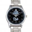 cool star wars master DJ trance yoda Stainless Steel Wristwatches