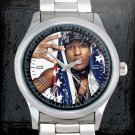 cool ASAP Rocky love live A$AP rap Stainless Steel Wristwatches