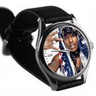 cool ASAP Rocky love live A$AP rap leather silver Wristwatches