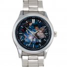 cool dr who police call box tardis Stainless Steel Wristwatches