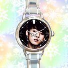 cute jungkook bangtan boys kpop round charm watches stainless steel