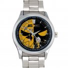 cool Soul Eater Death Shinigami Comic Art Anime Stainless Steel Wristwatches