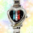 cute Twenty One Pilots logo vessel tyler joseph heart charm watches stainless steel