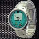 cool adventure time finn & jake Beemo Bmo Stainless Steel Wristwatches