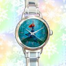 cute brave princess merida arrow round charm watches stainless steel