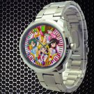 cool sailor moon mars jupiter venus crystal Stainless Steel Wristwatches