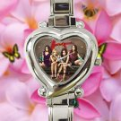 cute Pretty little liars who is A heart charm watches stainless steel