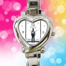 cute Fifty Shades of Grey Laters Baby heart charm watches stainless steel