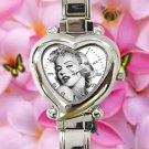 cute marilyn monroe quotes beautiful actress heart charm watches stainless steel