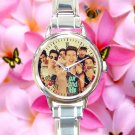cute our 2nd second life O2L round charm watches stainless steel
