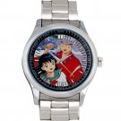 cool Chibi Inuyasha Kagome Anime cartoon Stainless Steel Wristwatches