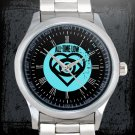 cool all time low future hearts logo Stainless Steel Wristwatches