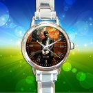 cute Kid Cudi Albums round charm watches stainless steel