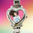 cute Lauren Jauregui Fifth Harmony hearts logo heart charm watches stainless steel
