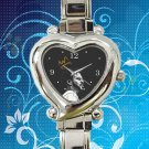 cute J Cole Art hearts logo heart charm watches stainless steel