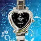 cute Bring Me the Horizon Umbrella logo hearts logo heart charm watches stainless steel