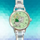 cute Steven Universe Peridot In The Toilet round charm watches stainless steel