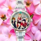 cute shinee minho key onew jonghyun taemin round charm watches stainless steel