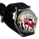 cool shinee minho key onew jonghyun taemin leather silver Wristwatches