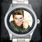 cool Zac Efron Stainless Steel Wristwatches