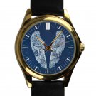 cool coldplay ghost stories album leather gold Wristwatches