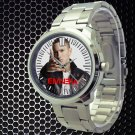cool eminem berzerk album hip hop Stainless Steel Wristwatches